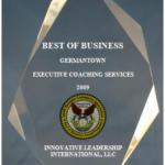 2009 Best of Business Award