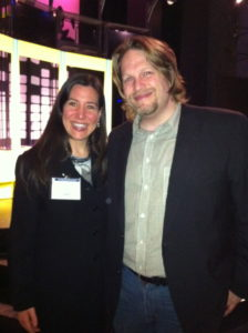 Suzi Pomerantz and Chris Brogan